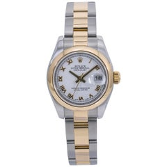 Rolex Datejust 179163, White Dial, Certified and Warranty