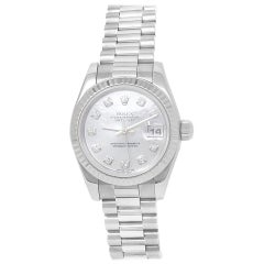 Rolex Datejust 179179, Mother of Pearl Dial, Certified and Warranty