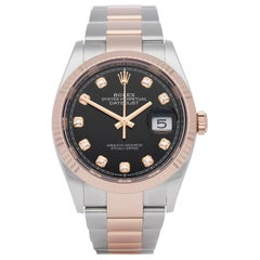 Rolex Datejust 36 Diamond Stainless Steel and Rose Gold 126231