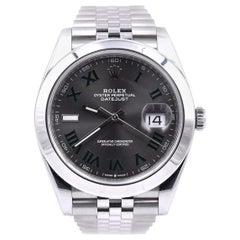 Rolex Datejust 41 Stainless Steel Fluted Bezel Watch Ref. 126300