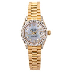 Rolex Datejust 69158, Mother of Pearl Dial, Certified and Warranty