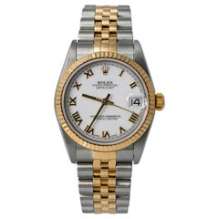 Rolex Datejust 78273, White Dial, Certified and Warranty