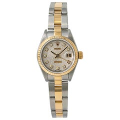 Rolex Datejust 79173, Silver Dial, Certified and Warranty