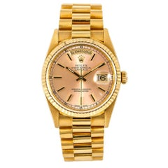 Rolex Day-Date 18238, Pink Dial, Certified and Warranty