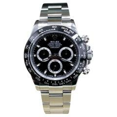 Rolex Daytona 116500, Black Dial, Unworn, Complete
