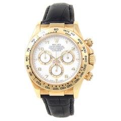 Rolex Daytona 116518, White Dial, Certified and Warranty