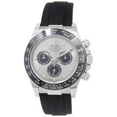 Rolex Daytona 116519, Silver Dial, Certified and Warranty