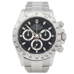 Rolex Daytona 116520 Men's Stainless Steel Chronograph Watch