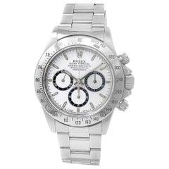 Rolex Daytona 16520, White Dial, Certified and Warranty