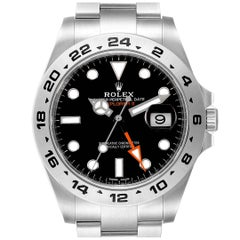 Rolex Explorer II Black Dial Steel Men's Watch 216570 Unworn