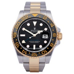 Rolex GMT-Master II 116713LN Men Stainless Steel and Yellow Gold Watch