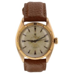 Rolex Oyster Perpetual 6085, Silver Dial, Certified and Warranty
