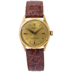 Rolex Oyster Perpetual 6285, Champagne Dial, Certified and Warranty