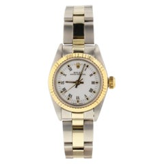 Rolex Oyster Perpetual 67193, White Dial, Certified and Warranty