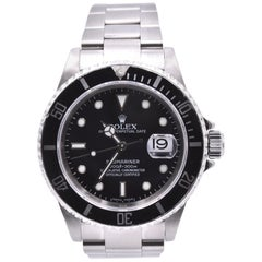 Rolex Stainless Steel Submariner Watch Ref. 16610
