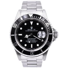 Rolex Stainless Steel Submariner Watch Ref. 1680