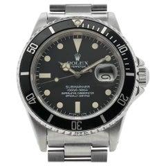 Rolex Submariner 16800, Matte Dial, 100% Original, Serviced, Warranty
