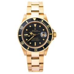 Rolex Submariner 16808, Black Dial, Certified and Warranty