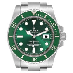 Rolex Submariner Hulk Green Dial Bezel Steel Steel Men's Watch 116610LV
