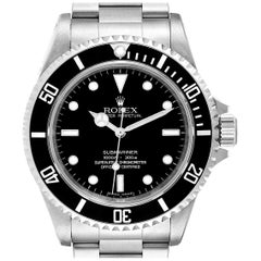 Rolex Submariner Non-Date 4 Liner Steel Men's Watch 14060