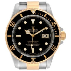 Rolex Submariner Steel Yellow Gold Men's Watch 16613