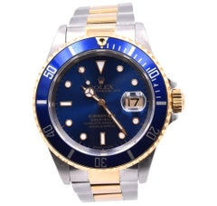 Rolex Submariner Two-Tone Watch Ref 16613