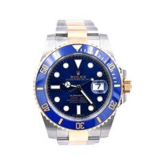 Rolex Two-Tone Ceramic Submariner Watch Ref. 116613LB