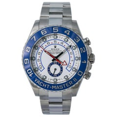 Rolex Yacht-Master II 116680, White Dial, Certified and Warranty