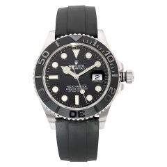 Rolex Yacht-Master White Gold Black Dial Automatic Men's Watch 226659