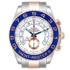 Rolex Yachtmaster II Rolesor EveRose Gold Steel Men's Watch 116681