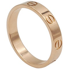 Rose Gold Cartier Love Ring