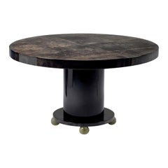 Round Dining Table by Tura