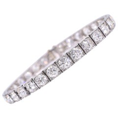 Ruser Old European Diamond Line Bracelet