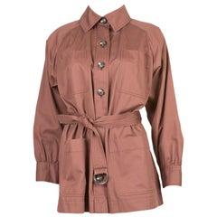 Saharienne Yves Saint Laurent Cotton Jacket