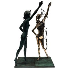 Salvador Dali Homage to Terpsichore Bronzes