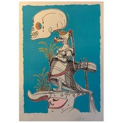 Salvador Dali Signed E. A. Series Les Songes Drolatiques de Pantagruel Suite