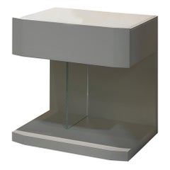 Samar nightstand bedside table, designed by Pierangelo Sciuto