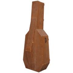 "Sandro ""INRI"" Contemporary Minimalist Sculpture Double Bass Case, 2017"
