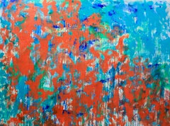 """""""Ode To Monet""""  Contemporary Mixed Media Homage to Monet by Sax Berlin"""