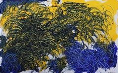 Wheatfield With Crows, after Vincent. Contemporary Surrealist Oil Painting