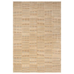 Schumacher Oceania Area Rug in Hand Knotted Wool Silk, Patterson Flynn Martin