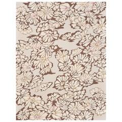 Schumacher Spiffy Area Rug in Hand-Tufted Wool Silk, Patterson Flynn Martin