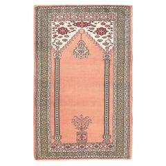 Semi-Antique Afghan Bokara Prayer Design