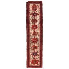 Semi Antique Persian Karajeh Rug