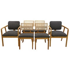 Set of 6 Early George Nelson for Herman Miller Dining Chairs