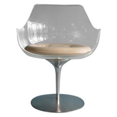 Set of 8 Champagne Chairs by Laverne
