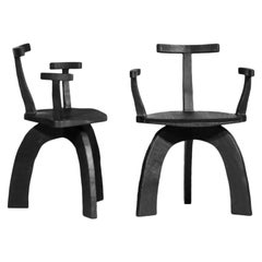 Set of 8 Modern Handcrafted Armchair 80/20 by Vincent Vincent