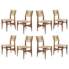 Set of 8 Side Chairs by Gio Ponti for M. Singer & Sons