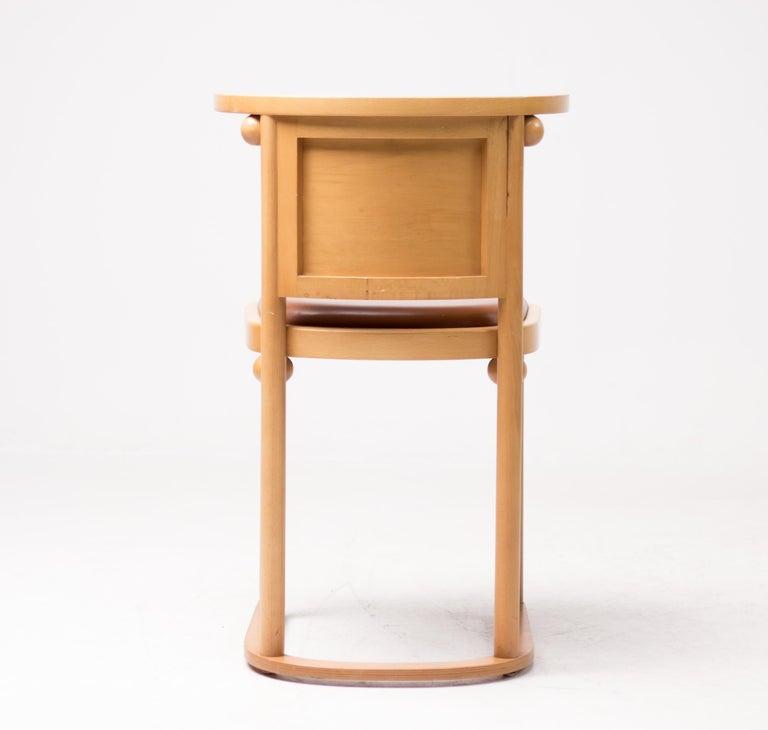 20th Century Set of Four Josef Hoffmann Cabaret Fledermaus Chairs For Sale