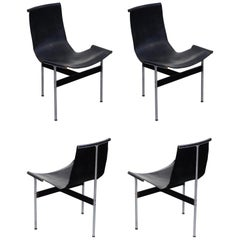 Set of Four T-Chairs by Katavolos, Littell and Kelly for Laverne International
